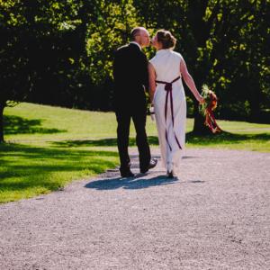 Die Trauung von Dagmar und Henrik